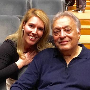 GILDA AT MAGGIO MUSICALE FIORENTINO WITH MO ZUBIN MEHTA